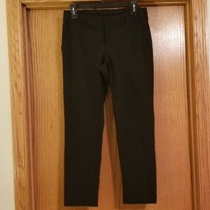Athleta Black Crop Active Pants Size 4